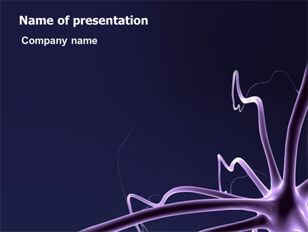 Abstract/Textures: Neuron PowerPoint Template #03304