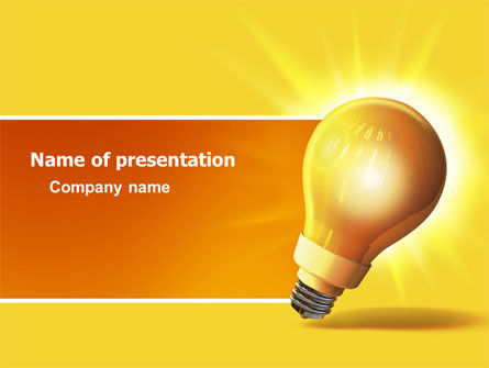 Business Concepts: Bright Idea PowerPoint Template #03307