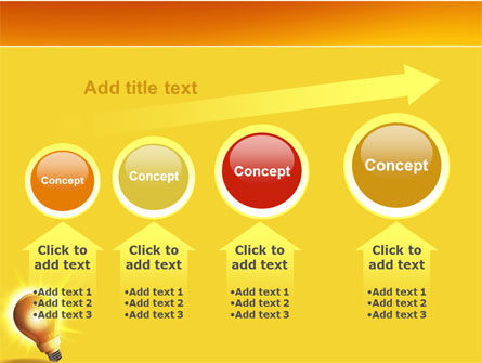 Bright Idea PowerPoint Template Slide 13