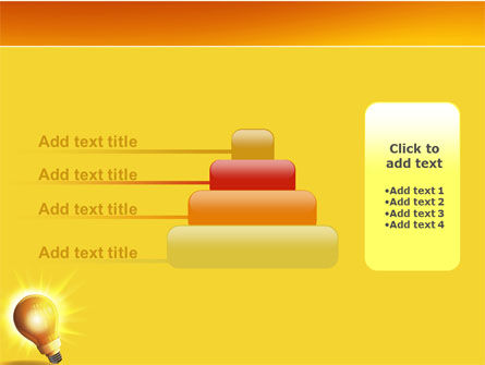 Bright Idea PowerPoint Template Slide 8