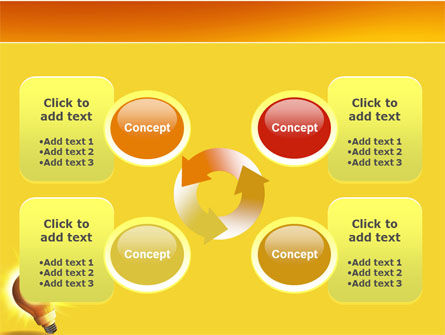 Bright Idea PowerPoint Template Slide 9
