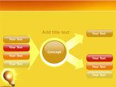 Bright Idea PowerPoint Template#14