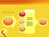 Bright Idea PowerPoint Template#17