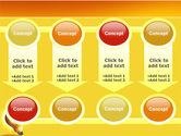 Bright Idea PowerPoint Template#18