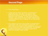 Bright Idea PowerPoint Template#2