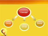Bright Idea PowerPoint Template#4