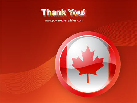 Canada Sign PowerPoint Template Slide 20