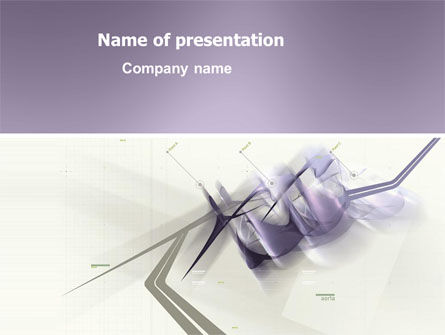 Abstract/Textures: Light Purple PowerPoint Template #03309
