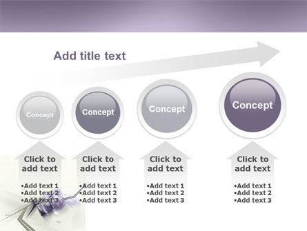 Light Purple PowerPoint Template Slide 13