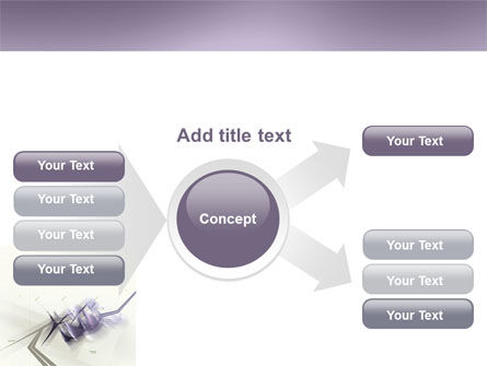 Light Purple PowerPoint Template Slide 14