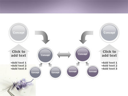 Light Purple PowerPoint Template Slide 19