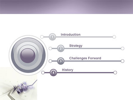 Light Purple PowerPoint Template Slide 3