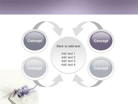 Light Purple PowerPoint Template Slide 6