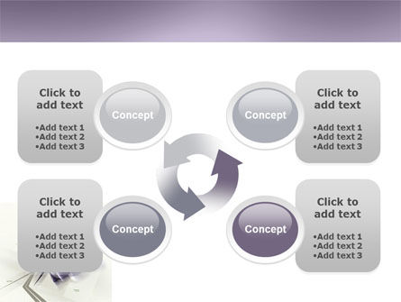 Light Purple PowerPoint Template Slide 9