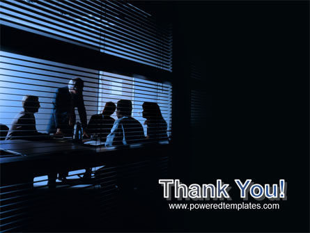 Presentation At The Business Meeting Room PowerPoint Template Slide 20