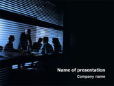 Business: Presentation At The Business Meeting Room PowerPoint Template #03313