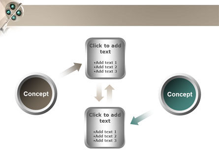 Illumination Of The Operation Room PowerPoint Template Slide 19