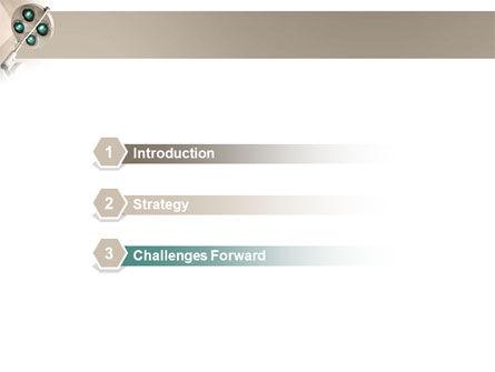 Illumination Of The Operation Room PowerPoint Template Slide 3