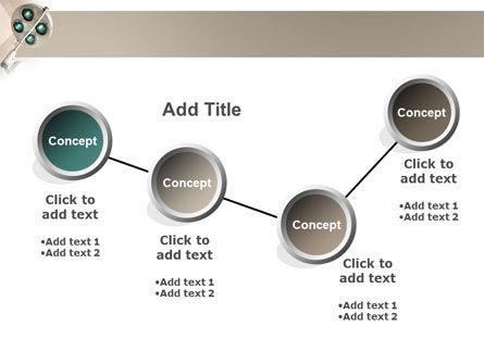 Illumination Of The Operation Room PowerPoint Template Slide 6