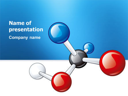 Technology and Science: Molecular Grade PowerPoint Template #03315
