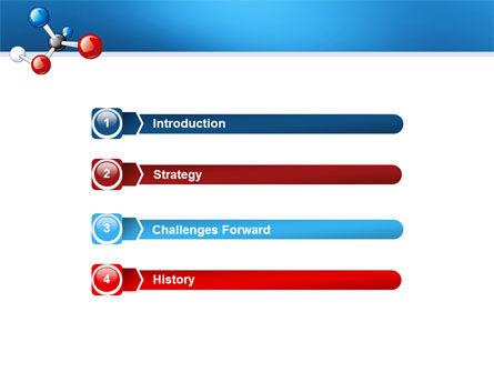 Molecular Grade PowerPoint Template, Slide 3, 03315, Technology and Science — PoweredTemplate.com