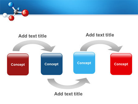 Molecular Grade PowerPoint Template, Slide 4, 03315, Technology and Science — PoweredTemplate.com