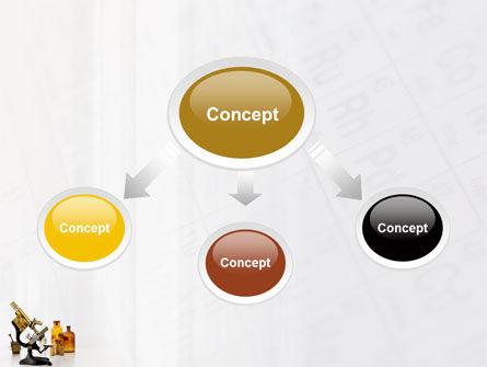 Microscope PowerPoint Template, Slide 4, 03316, Medical — PoweredTemplate.com