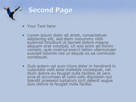 Football Ballet PowerPoint Template, Slide 2, 03318, Sports — PoweredTemplate.com