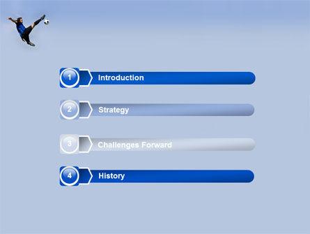 Football Ballet PowerPoint Template, Slide 3, 03318, Sports — PoweredTemplate.com