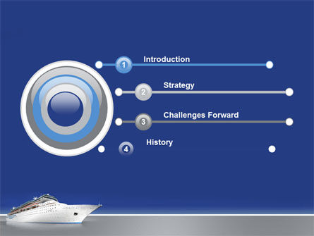 Sea Liner PowerPoint Template Slide 3