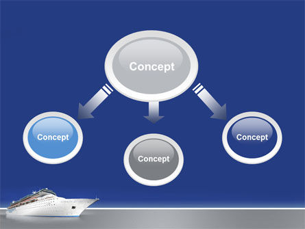 Sea Liner PowerPoint Template Slide 4