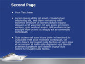 Sea Liner PowerPoint Template#2