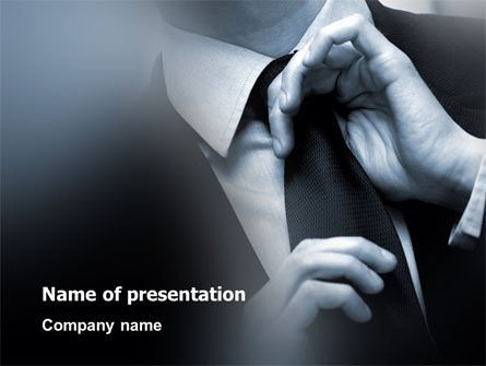 Business Style Accentuation PowerPoint Template
