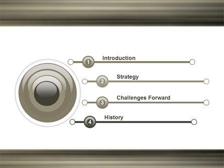 Movement On Platform PowerPoint Template Slide 3