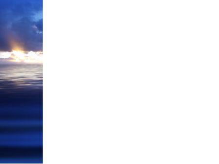 Sea Water PowerPoint Template, Slide 3, 03324, Nature & Environment — PoweredTemplate.com