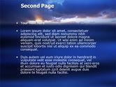 Sea Water PowerPoint Template#2