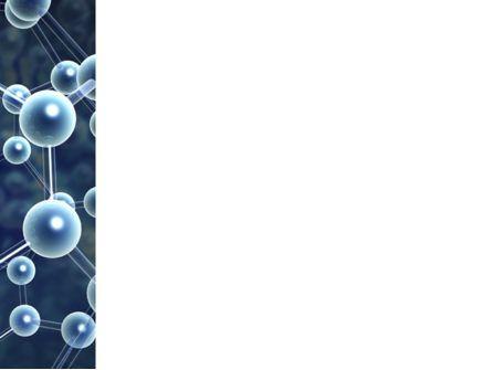 Templat PowerPoint Struktur Molekul, Gambar Latar | 03327 |  PoweredTemplate.com