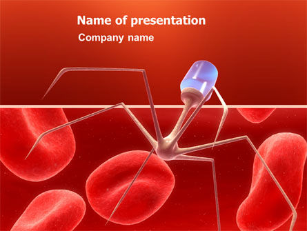 Nanotechnology In Medicine PowerPoint Template, 03329, Medical — PoweredTemplate.com
