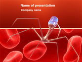 Medical: Nanotechnology In Medicine PowerPoint Template #03329