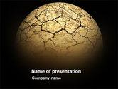 Nature & Environment: 砂漠の惑星 - PowerPointテンプレート #03330