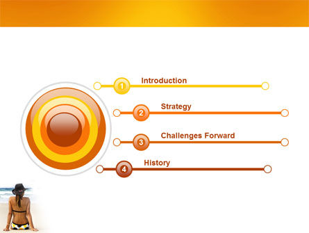 Sunny Beach PowerPoint Template Slide 3