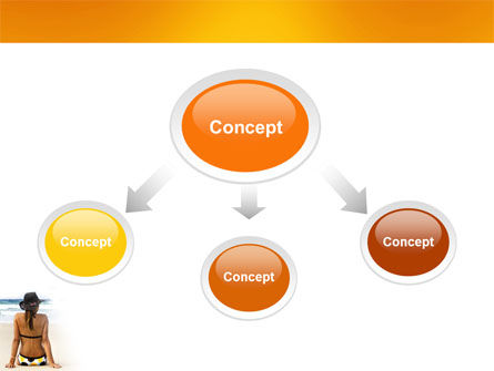 Sunny Beach PowerPoint Template Slide 4
