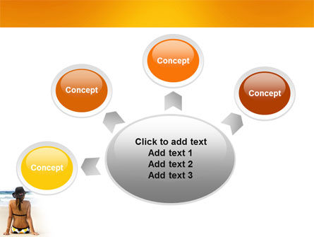 Sunny Beach PowerPoint Template Slide 7