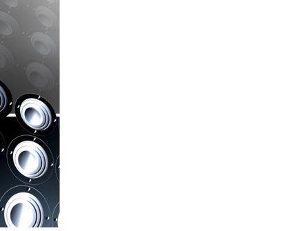 Loud Speakers PowerPoint Template, Slide 3, 03332, Art & Entertainment — PoweredTemplate.com