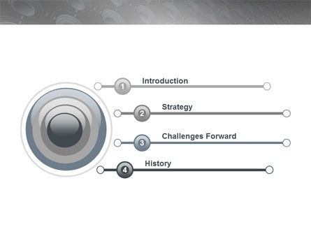 Loud Speakers PowerPoint Template Slide 3