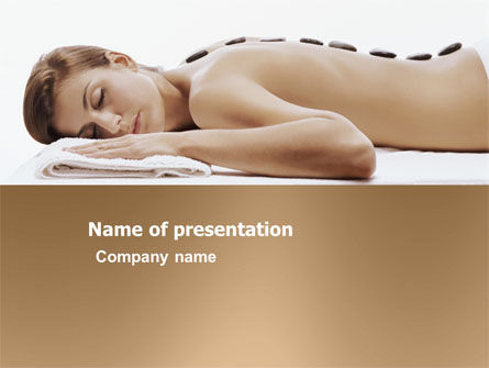 Spa Salon PowerPoint Template, 03335, Health and Recreation — PoweredTemplate.com