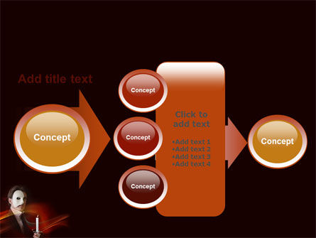 Masked Ball PowerPoint Template Slide 17