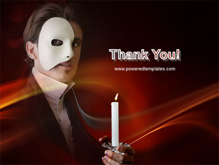 Masked Ball PowerPoint Template Slide 20