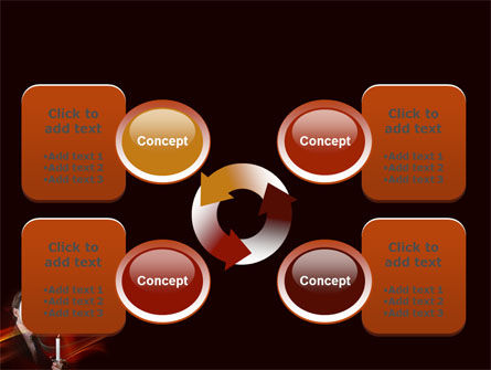 Masked Ball PowerPoint Template Slide 9