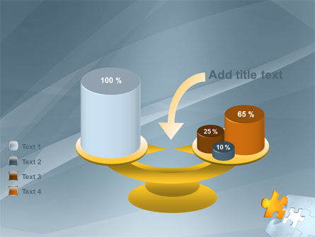 Piece of Puzzle PowerPoint Template Slide 10